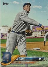 TY COBB 2018 Topps Series 2 #351 SP Photo Variation Legend Tigers Non Auto