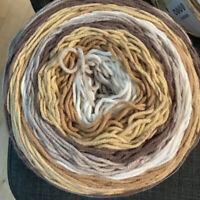 Caron BIG  Cakes Yarn, Vanilla Bean, 10.5oz 603 Yards #4 Weight