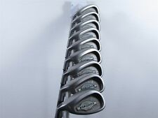 LH Callaway Golf Big Bertha X-12 Iron Set 4-PW, AW, SW Regular RCH 90 Shafts