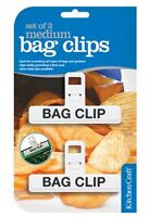 Kitchen Craft New Medium Freezer Bag Clips - KCBAGMED