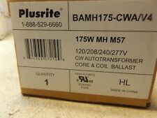 Plusrite BAMH175-CWAV4 Core and Coil Ballast