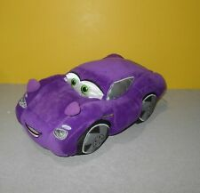 """Authentic Disney Store Cars Movie 13"""" Plush Stuffed Purple Holley Shiftwell"""