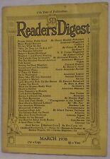 March 1938 Reader's Digest!!!
