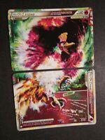 LP COMPLETE Pokemon HO-OH LEGEND Card HGSS HEARTGOLD SOULSILVER 111-112/123 AP