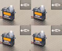 S0361 Ultra Micro Servo nano feather Servos 3.6g .45kg .12sec RC Plane orangeRX