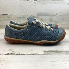 Women's KEEN Mercer Lace Li CNX Indian Teal Hiking Shoe Size US 8 EUR 38.5