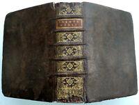 1707 La SAINTE BIBLE VIEIL & NOUVEAU TESTAMENT PSEAUME LIVRE BOOK JESUS RELIGION