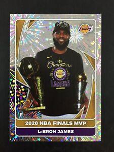 Lebron James Foil Sticker NBA Finals MVP Panini 2020 2021 (20-21) #84.