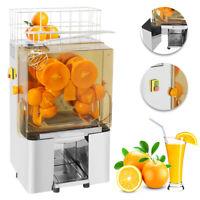 comercial Auto Exprimidor de Naranja Alimentación Máquina de zumo de naranja