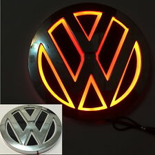 5D LED Car Tail Logo Red Light for Volkswagen VW CC Bora Golf Auto Badge Light
