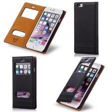 Numia Handy Tasche Schutz hülle Flip Cover Case Etui Samsung Galaxy S5 schwarz