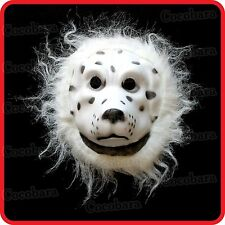 DALMATIAN DOG PUPPY MASK-PET-COSTUME-DRESS UP-COSPLAY-PARTY-HALLOWEEN