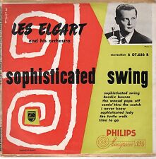 "Les Elgart-Sophiticated Swing-Philips-B07.656R-Vinyl 10""-France-VRare"