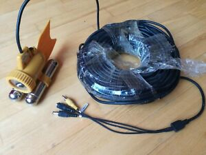 Underwater LED Camera with 20m Cable Cord | Fishing Fish Monitoring | not tested