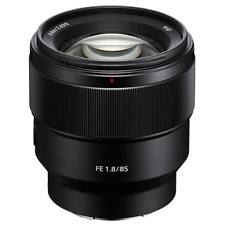 A - Sony FE 85mm F1.8 Telephoto Prime Lens