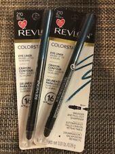Lot of 2, Revlon Colorstay 16 Hr Eye Liner, 210 Teal!