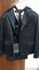Vestito elegante completo misura 22  3 anni giacca gilet cammicia cravatta bimbo