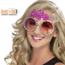 Bride To Be Glasses Hen Night Do Party Fancy Dress Ladies Womens Costume Acc