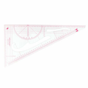 Office Triangle Building Map Drawing Scale Template Ruler Stationery
