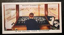 LNER  Whitemoor Railway Switch Yard Tower   Original 1930's Vintage Card # VGC