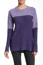 Cullen Colorblock Cashmere Sweater Dark Star Combo XS NWT $408