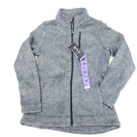 NWT Marc New York Heather Gray Knit Athletic Herringbone Jacket Womens Size XS