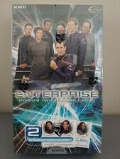 STAR TREK ENTERPRISE SEASON 2 FACTORY SEALED BOX PLUS SELL-SHEET & P1 PROMO