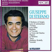 GIUSEPPE DI STEFANO : GREAT VOICES / 2 CD-SET - TOP-ZUSTAND
