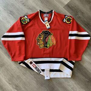 Authentic Chicago Blackhawks Jersey 48 CCM Ultrafil