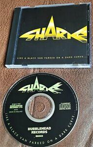 SHARKS  LIKE A BLACK VAN PARKED ON A DARK CURVE 1995 CD  ROCK CHRIS SPEDDING