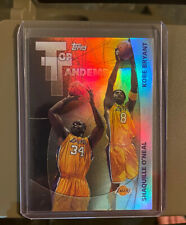 2002-2003 Topps Top Tandems #TT2 Kobe Bryant / Shaquille Oneal Non Auto