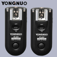 YONGNUO RF-603II RF603 Flash Trigger Canon 5DII 5D 7D 10D 20D 30D