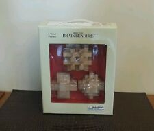Solid wood Brain Benders, 3 Wood Puzzles, New in box
