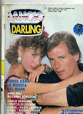 DARLING # Mensile di Fotoromanzi-Anno XXI-N.236 #Lancio 3 Febbraio 1987 Verdone