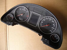 Audi A4 8e B6 Instrument Cluster Diesel Display Red