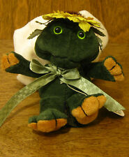 Boyds Plush Ornaments #56194 Lilly R. Ribbit, New From Retail Store, Frog Angel