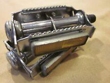 Vintage mtb HTI rat trap pedals 9/16 old school BMX pedals chrome rat trap pedal