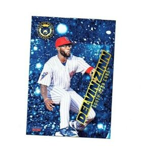 Delvin Zinn 2021 South Bend Cubs Baseball card Pontotoc MS Chicago Cubs