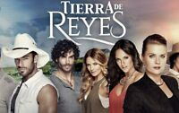 Telenovela Tierra de reyes Aaron Diaz DVD