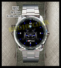 NEW HOT BMW CAR LOGO M POWER M5 Hot Rare Sport Metal Watch