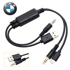 Cavo Y USB Interfaccia AUX Per BMW Mini Cooper iPhone 5 iPod Touch 5 Nano 7