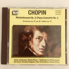 Chopin Klavierkonzert Nr 2 Piano Concerto No 2 CD