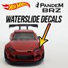 Hot Wheels Street Tuners Pandem BRZ Custom Waterslide Decals Headlight Taillight