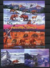 MALEDIVEN MALDIVE 2002 Prähist. Säugetiere Animals 3955-3966 + Block 517 ** MNH