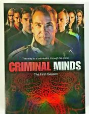 criminal minds the first 1st season 3 sealed dvd with original box new sealed  i