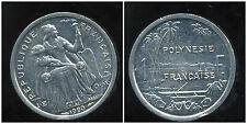 POLYNESIE francaise 1 franc 1990 ( bis )