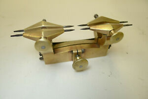 Antique/Vintage WATCHMAKERS DEPTHING/DEPTH pinion&wheel brass tool