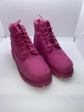 Timberland Junior  6 in premium rose boots size 3 # TB0A148 ( Nb306)