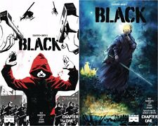 BLACK 1 1B Variant Covers Mask Comics SciFi Ashley Wood Art Harriet Tubman Movie