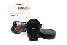 Walimex pro 8 mm 3.5 Fish-eye II Lens-Nikon F - 18698-Top - * Revendeur *